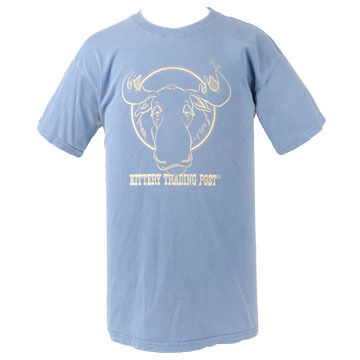 NH Printworks Mens Coming & Going Moose Short Sleeve T-Shirt