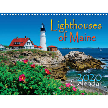 Maine Scene Lighthouses of Maine 2020 Wall Calendar