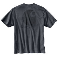 Carhartt Men's Big & Tall Workwear C Logo Graphic Pocket Short-Sleeve T-Shirt