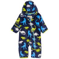 Hatley Infant Boy's Silhouette Dinos Fuzzy Fleece Baby Bundler