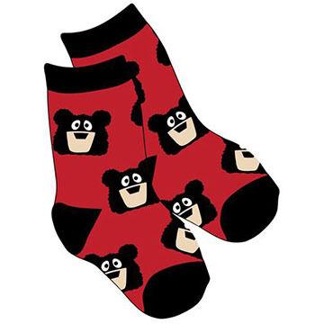 Lazy One Boys & Girls Bear Bum Sock