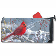 MailWraps Cardinal In Snow Mailbox Cover