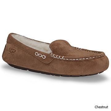 UGG Womens Ansley Sheepskin Lined Moccasin