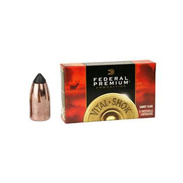 "Federal Premium Vital-Shok 20 GA 3"" 5/8 oz. Trophy Copper Sabot Slug Ammo (5)"