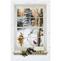 Pumpernickel Press Birdwatchers Window Deluxe Boxed Greeting Cards