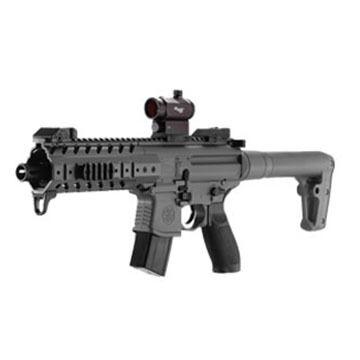 SIG Sauer MPX CO2 177 Cal. Air Rifle w/ 20mm SIG 20R Red Dot Optic