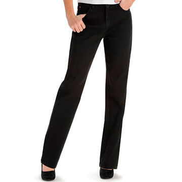 Lee Women's Relaxed-Fit Straight Leg Jean