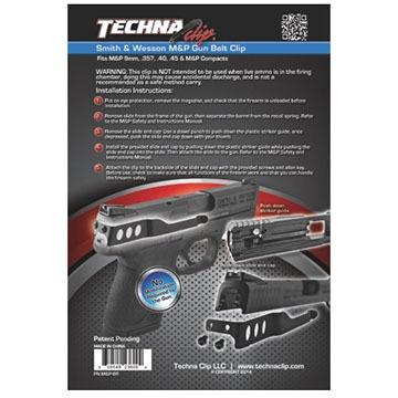 Techna Clip Smith & Wesson M&P Belt Clip - Right Side