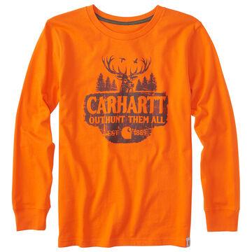 Carhartt Boys Outhunt Them All Long-Sleeve T-Shirt