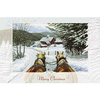 Pumpernickel Press Jingle All The Way  Deluxe Boxed Greeting Cards