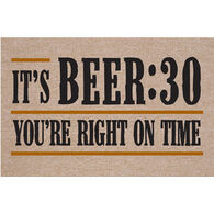 High Cotton Doormat - It's Beer:30
