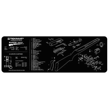 TekMat Ruger 10/22 Rifle Cleaning Mat