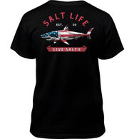 Salt Life Youth Red White And Bite Short-Sleeve T-Shirt