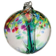 "Kitras Art Tree Of Enchantment 6"" Glass Ball"
