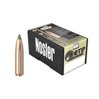 "Nosler E-Tip 270 Cal. 130 Grain .277"" Spitzer Point Rifle Bullet (50)"