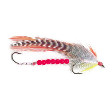 Pauls Hand-Tied Beaded Tandem Streamer