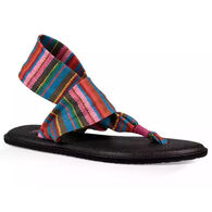Sanuk Youth Yoga Sling Burst Print Sandal