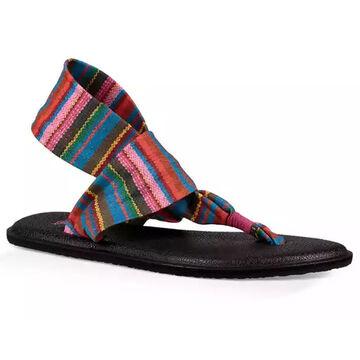 Sanuk Youth Yoga Sling Burst Print Sandal
