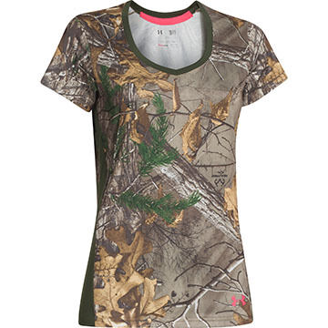 Under Armour Women's Tech Camo Short-Sleeve T-Shirt
