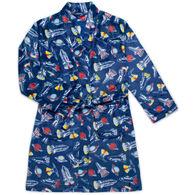 Sovereign Athletic Boy's Space Camp Fleece Robe