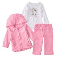 Carhartt Infant/Toddler Girls' Jacket Gift Set