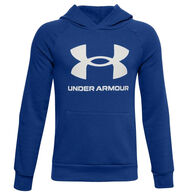 Under Armour Boy's Rival Fleece Big Logo Hoodie