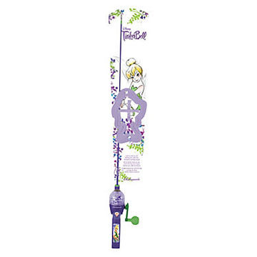 Shakespeare Children's Disney Fairies Lighted Spincast Combo Kit