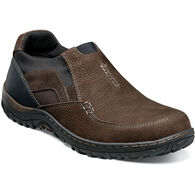 Nunn Bush Men's Quest Moc Toe Slip-On Shoe