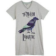 Hatley Little Blue House Women's Raven Lunatic Sleepshirt