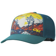 Outdoor Research Men's Alpenglimmer Trucker Hat