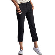 Lee Women's Relaxed Fit Carson Knitwaist Capri Pant
