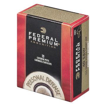 Federal Premium Personal Defense 45 Auto 230 Grain Hydra-Shok JHP Handgun Ammo (20)