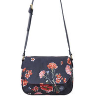 Joules Women's Darby Canvas Saddle Bag