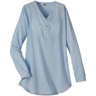 Mountain Khakis Women's Savannah V-Neck Long-Sleeve Top