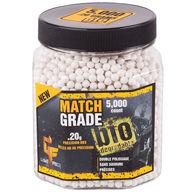 Crosman Game Face Match Grade Biodegradeable 0.20g. White BB (5000)