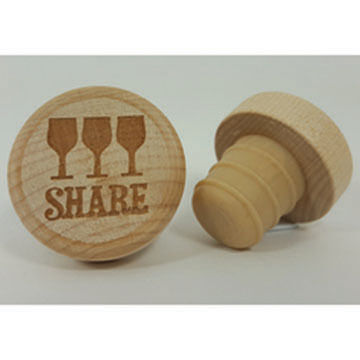 KitchenHappy WineO Share Wine Stopper
