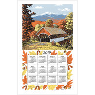 Kay Dee Designs 2019 Covered Bridges Calendar Towel