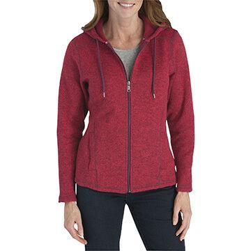 Dickies Womens Sweater Hooded Jacket