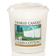 Yankee Candle Sampler Votive Candle - Clean Cotton
