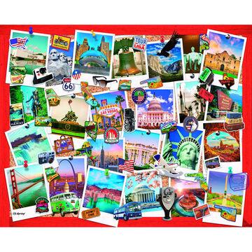 White Mountain Jigsaw Puzzle - Snapshots of America