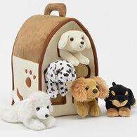 Unipak Designs Plush Dog House - 6 Piece