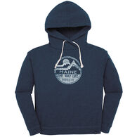 Techstyles Women's Maine - The Way Life Should Be Hooded Sweatshirt