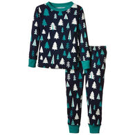 Hatley Boys' Tree PJ Set