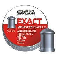 JSB Match Diabolo Exact Monster 177 Cal. 4.5mm 13.43 Grain Air Gun Pellet (400)