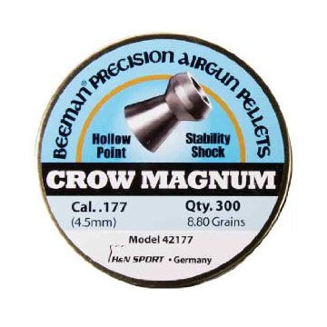 Beeman Crow Magnum 177 Cal. HP Airgun Pellet (300)