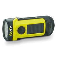 Secur Waterproof Solar Dynamo 8 Lumen LED Flashlight