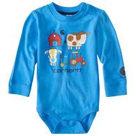 Carhartt Infant/Toddler Boys' Barnyard Friends Bodyshirt