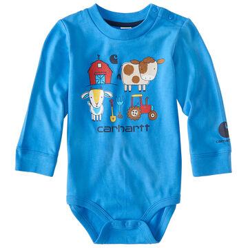 Carhartt Infant/Toddler Boys Barnyard Friends Bodyshirt