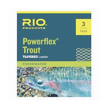 RIO Powerflex Trout Leader - 3 Pk.