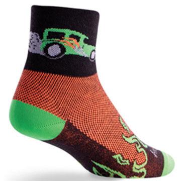 SockGuy Men's Hot Rod Bicycling Sock